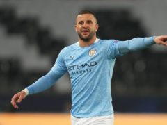 Kyle Walker is relishing his first taste of the Champions League final (Julien Poupert/PA Wire)