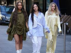 Leigh-Anne Pinnock, Jade Thirlwall and Perrie Edwards (Yui Mok/PA)