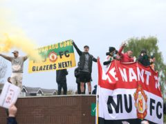 Manchester United supporter protests forced the postponement of the Premier League match at home to Liverpool (Barrington Coombs/PA)