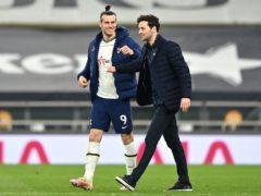 Gareth Bale scored a hat-trick for Tottenham (Justin Setterfield/PA)