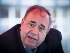Alex Salmond said 'online warriors' are a problem in politics (Jane Barlow/PA)