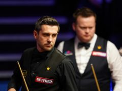 Mark Selby is four frames away from his fourth world title (Zac Goodwin/PA)