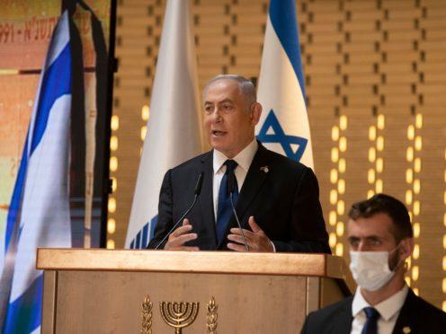 Israeli Prime Minister Benjamin Netanyahu (Maya Alleruzzo/AP)