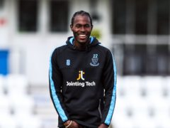 Jofra Archer is set to turn out for Sussex this week (Kieran Cleeves/PA)