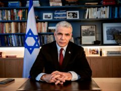 Israel's opposition leader Yair Lapid has been invited to form a government (Oded Balilty/AP)