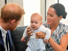 Archie has learned the word 'grandma', the Duke of Sussex has said (Toby Melville/PA)