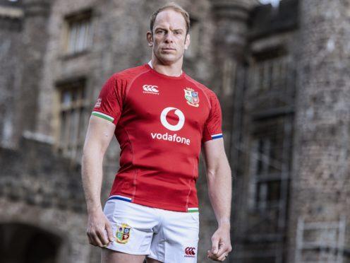 British and Irish Lions captain Alun Wyn Jones (Dan Sheridan/INPHO/PA)