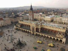 The Polish city of Krakow (AP)