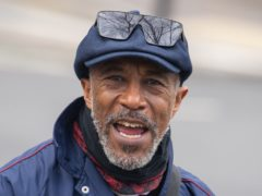 Danny John-Jules outside Uxbridge Magistrates' Court (Dominic Lipinski/PA)