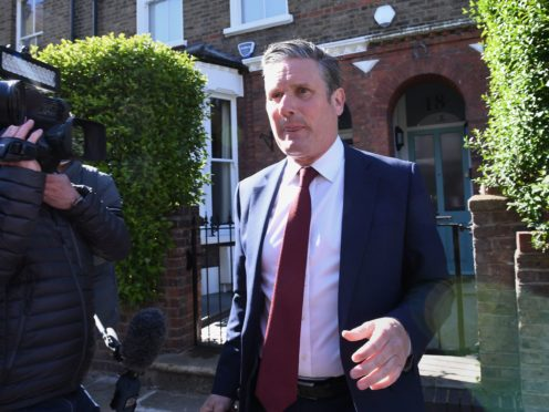 Sir Keir Starmer has undertaken his first reshuffle since being elected Labour leader in April 2020 (Stefan Rousseau/PA)