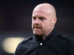 Sean Dyche is planning for the future at Turf Moor (Michael Regan/PA)