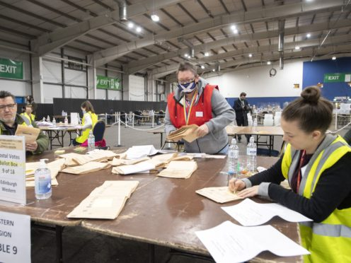 The SNP has gained East Lothian (Lesley Martin/PA)