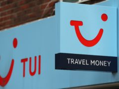 Tui said summer 2022 bookings are heavily ahead of 2019 (Andrew Matthews/PA)