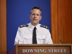 Director general of Border Force Paul Lincoln during a media briefing in Downing Street, London (Tolga Akmen/PA)