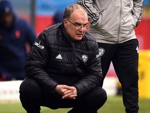 Leeds manager Marcelo Bielsa (Oli Scarff/PA)