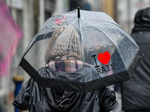 Torrential downpours have been forecast for parts of the country (Ben Birchall/PA)