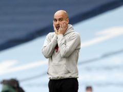 Pep Guardiola's Manchester City were beaten again by fellow Champions League finalists Chelsea on Saturday (Martin Rickett/PA)