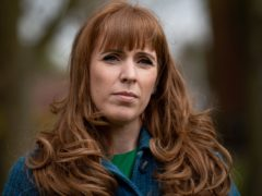 Deputy Labour leader Angela Rayner (Jacob King/PA)