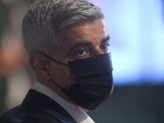 Labour's Sadiq Khan (Victoria Jones/PA)