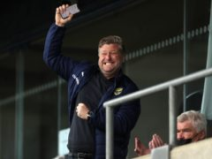 Karl Robinson was delighted to see his side reach the play-offs (Bradley Collyer/PA)