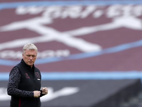 David Moyes saw his side suffer a costly defeat (Andrew Couldridge/PA)