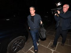 Labour leader Sir Keir Starmer returning to his north London home after completing his reshuffle (Victoria Jones/PA)