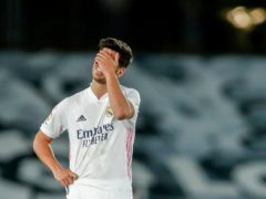 Marco Asensio scored for Real Madrid but they were forced to settle for a draw against Sevilla (Manu Fernandez/AP/PA)