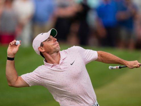 Rory McIlroy returned to winning ways (Jacob Kupferman/AP)