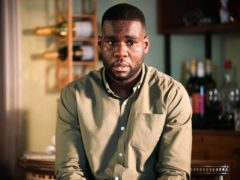 Stevie Basaula as Isaac Baptiste in EastEnders (Kieron McCarron/Jack Barnes/BBC/PA)