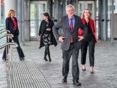 Wales First Minister Mark Drakeford arrives at the Senedd in Cardiff Bay (Ben Birchall/PA)