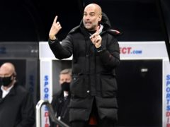 Manchester City manager Pep Guardiola wants his players to learn from their win at Newcastle ahead of the Champions League final (Peter Powell/PA)