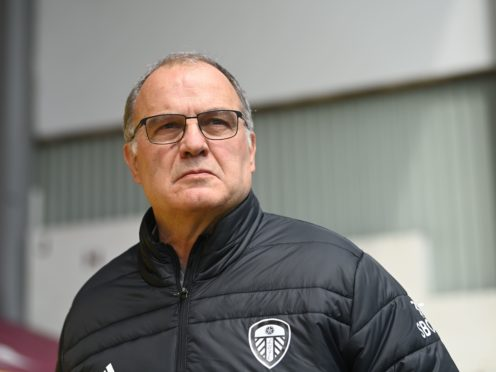 Marcelo Bielsa, pictured, has granted early leave to a couple of Leeds' international players (Gareth Copley/PA)