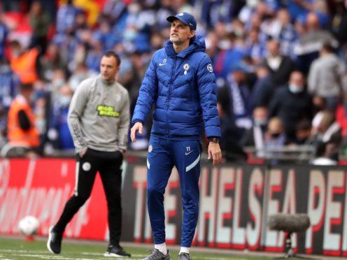 Thomas Tuchel's Chelsea were beaten at Wembley (Nick Potts/PA)
