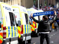 The SFA have condemned the scenes round Glasgow following Rangers' title celebrations (Andrew Milligan/PA)