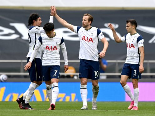 Tottenham put a top-six finish into their own hands with a 2-0 win over Wolves (Shaun Botterill/PA)