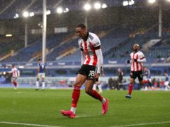 Daniel Jebbison fired Sheffield United to victory at Everton (Alex Pantling/PA)