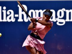 Serena Williams made a winning start in Parma (Marco Vasini/AP)
