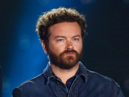Danny Masterson, who faces rape allegations, seen here at an awards show in Nashville in 2017 (Wade Payne/Invision/AP)