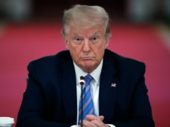 The New York attorney general's office has announced it is conducting a criminal investigation into former president Donald Trump's business empire ((Alex Brandon/AP)