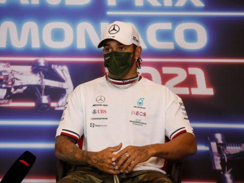 Lewis Hamilton is bidding to win his eighth world title this year (Sebastian Nogier/AP)