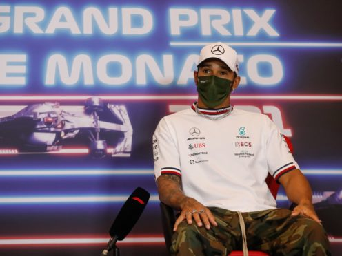 Lewis Hamilton believes Formula One is solely for the wealthy (Sebastian Nogier/AP)