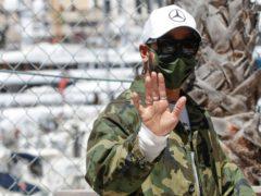 Lewis Hamilton ahead of this weekend's Monaco Grand Prix (Luca Bruno/AP)