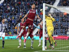 Tomas Soucek scored at both ends in West Ham's game at West Brom. (Molly Darlington/PA)