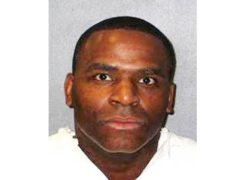 Quintin Jones, who was executed in Texas on Wednesday (Texas Department of Criminal Justice/AP)