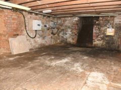 The cellar of the Clean Plate cafe in Southgate Street, Gloucester (Gloucestershire Police/PA)