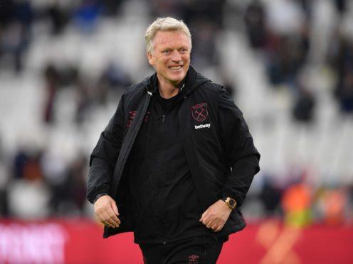 David Moyes guided West Ham into Europe (Justin Tallis/PA)