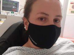 Billie-Jo Redman shared her story (Cardiff University/PA)