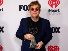 Sir Elton John said Lil Nas X has 'balls of steel' as he praised the ground-breaking rapper at the iHeartRadio Music Awards (Chris Pizzello/AP)