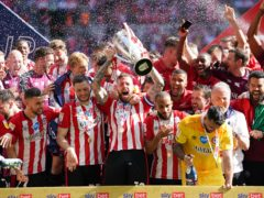 Brentford won the play-off final (Mike Egerton/PA)
