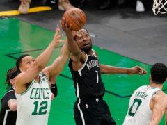 Brooklyn Nets forward Kevin Durant (Elise Amendola/AP)